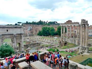 ローマ午後ウォーキングツアー ~ローマ悠久の歴史をめぐる