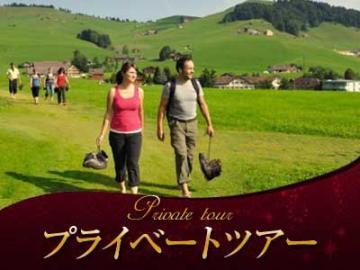 【プライベートツアー】 日本語ガイドと列車で行く アッペンツェル地方の1日裸足ハイキング