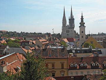公共バスで行くザグレブ1泊2日観光~クロアチアの首都 美しい古都ザグレブ~