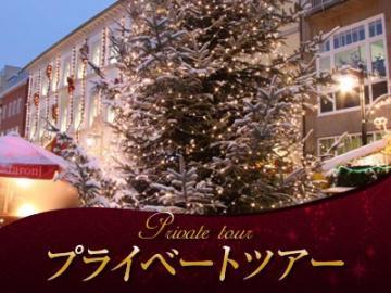 【プライベートツアー】 クリスマス限定 日本語ガイドと列車で行く人気のコンスタンツのクリスマスマーケットと中世の町シュタイン・アム・ライン