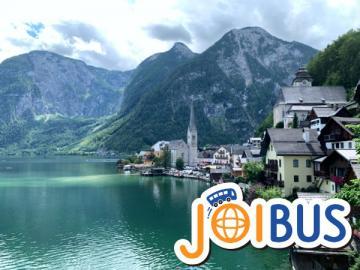 【JOIBUS】ザルツブルク発ウィーン着(途中ザルツカンマーグートの町ザンクト・ギルゲン、ザンクト・ヴォルフガング、ハルシュタットで散策できます)