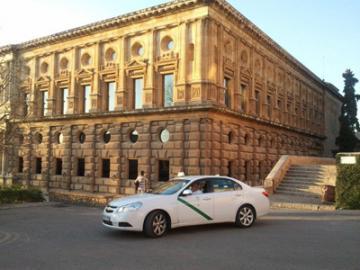 アルハンブラ宮殿入場チケット&タクシーで行くグラナダ市内観光(日本語イヤホンガイド付き)