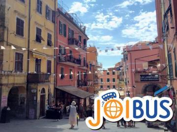 【JOIBUS】ボローニャ発ピサ着(チンクエ・テッレへの入口の町ラ・スペツィアでは自由時間があります)