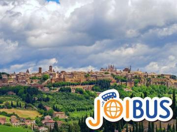 【JOIBUS】ピサからローマまで 中部イタリア2日間周遊