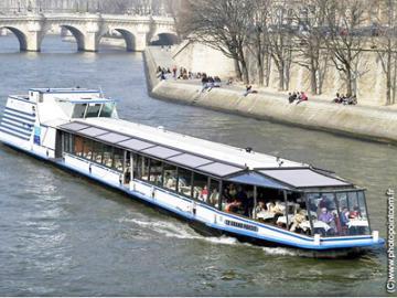 マリーナ・ド・パリ 手軽に楽しむセーヌ河クルーズ