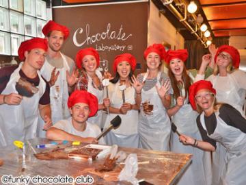 スイスチョコレート作り体験