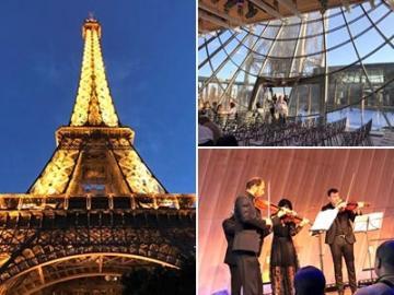 【12月31日限定】パノラマバスで行く エッフェル塔コンサート&パリのイルミネーションツアー