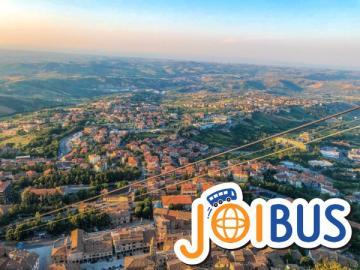 【JOIBUS】ローマからボローニャまで 中部イタリアとサンマリノ2日間周遊