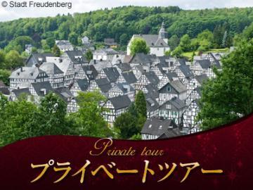 【プライベートツアー】 日本語ドライバーガイドと専用車で行く ケルン大聖堂とアウグストゥスブルク城、絶景の街フロイデンベルク 1日観光