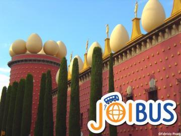【JOIBUS】カルカッソンヌ発バルセロナ着(ダリ美術館のあるフィゲラスとジローナでは散策時間があります)