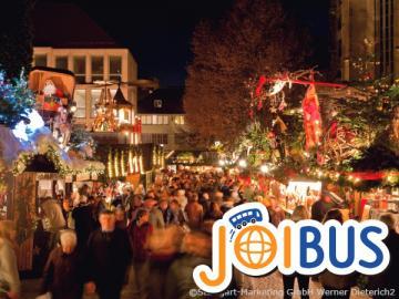 【JOIBUS】クリスマススペシャル ミュンヘン発シュトゥットガルト着(途中テディベアの聖地ギーンゲンとローテンブルクでは散策時間があります)