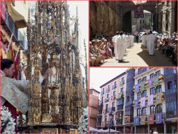 【6月19日限定】1年に1度!トレド聖体祭ツアー(パエリアの昼食付き)