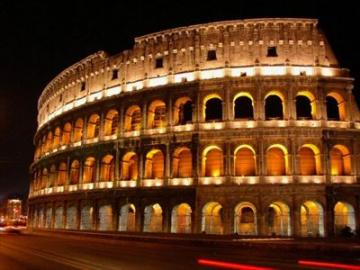 ローマの夜景イルミネーションドライブ