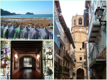 バスクの村を巡る旅~ビルバオ発サン・セバスチャン着~ 2泊3日