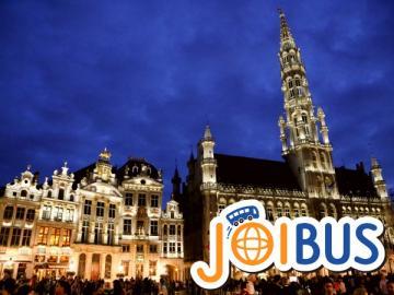 【JOIBUS】アムステルダム発ブリュッセル着(途中ユトレヒト、アントワープで散策できます)