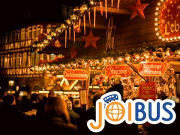 【JOIBUS】クリスマススペシャル シュトゥットガルト発フランクフルト着(途中フランスのストラスブールとハイデルベルクでは散策時間があります)