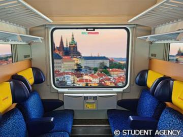 【プライベートツアー】私鉄レギオジェットで行く!お手頃価格でプラハ1日ハイライト観光
