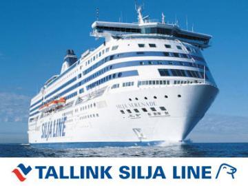 バルト海クルーズ タリンク・シリヤライン乗船チケット (ヘルシンキ→ストックホルム)