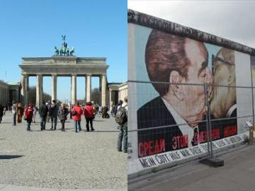 ベルリンを歩く1日 よくばり午前ウォーキングツアー + ベルリンの壁と旧東ドイツを感じる午後ウォーキングツアーのセット
