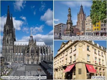 世界遺産ケルン大聖堂と旧市街 午前ウォーキングツアー