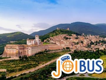 【JOIBUS】ローマ発サンマリノ着(途中アッシジとペルージャでは散策時間があります)