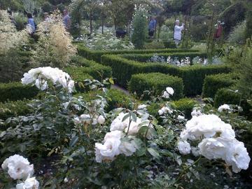 名園シシングハースト城ガーデン、中世の街並ライと海辺のヘイスティングス1日観光