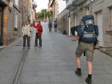 サンティアゴ巡礼の道ツアー3泊4日 ガリシアの緑の道【サリア~サンティアゴ】