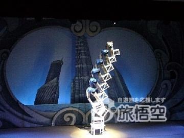 【最大45%割引!当日手配可能!カンタンカードオンライン決済!】上海雑技団 [馬蘭花劇場] 電子チケット