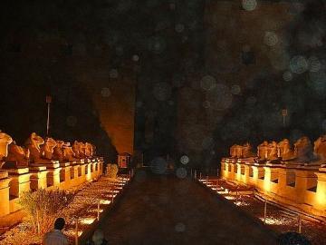 カルナック神殿 サウンド&ライトショー