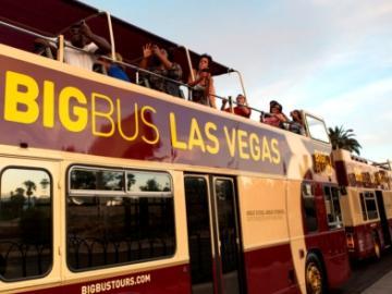 ビッグバスツアーズラスベガス 48時間乗り降り自由市内観光バス乗車券