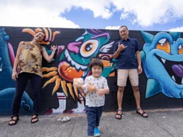 PROJECT M:カカアコ・ウォールアート&アラモアナパーク  フォトジェニックツアー