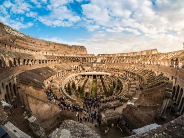 コロッセオ優先入場チケット(パラティーノの丘+フォロ・ロマーノ入場付き)ローマ イタリア
