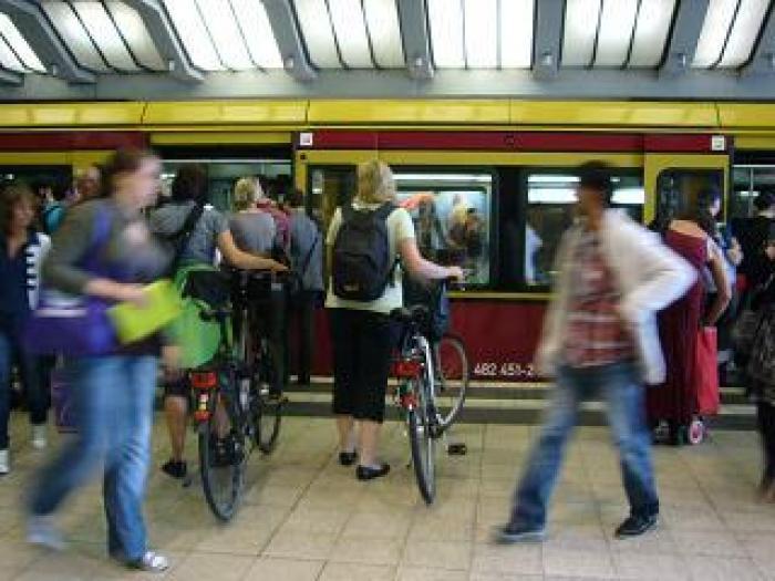 ベルリンの鉄道事情の写真|ピックアップ! ドイツ 交通情報