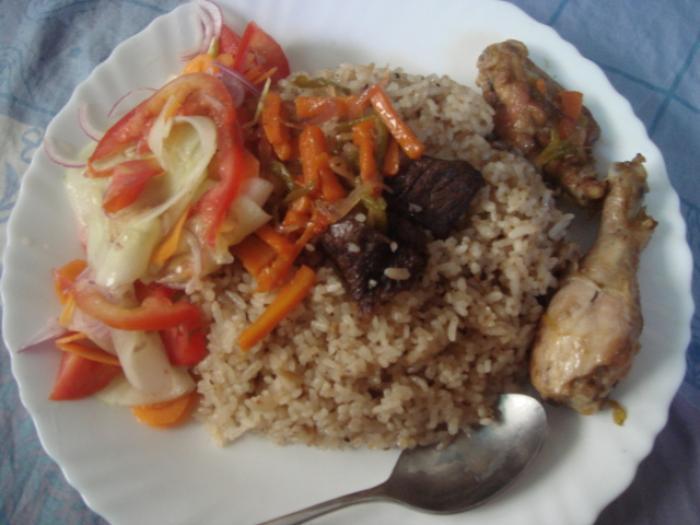 タンザニアの名物家庭料理の写真|ピックアップ! タンザニア 料理・グルメ情報
