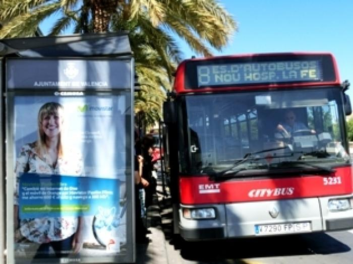 バレンシアのバス事情の写真|ピックアップ! スペイン 交通情報