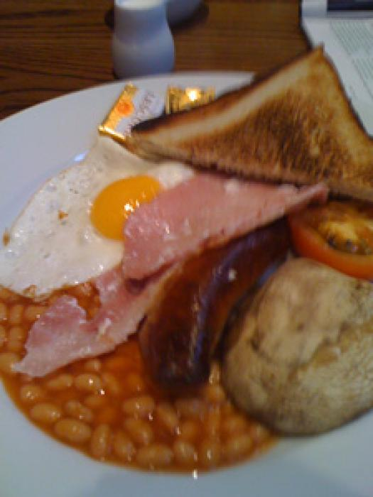 ロンドンの朝食の写真|ピックアップ! イギリス 料理・グルメ情報